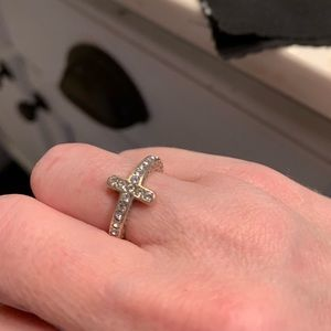 Brighton Jewelry - Brighton cross ring sterling silver EUC